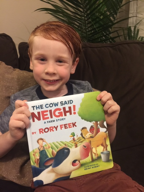 A Farm Story The Cow Said Neigh! board book